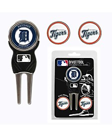 Team Golf Detroit Tigers Divot Tool and Markers Set