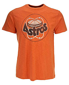 '47 Brand Men's Short-Sleeve Houston Astros Scrum Coop T-Shirt