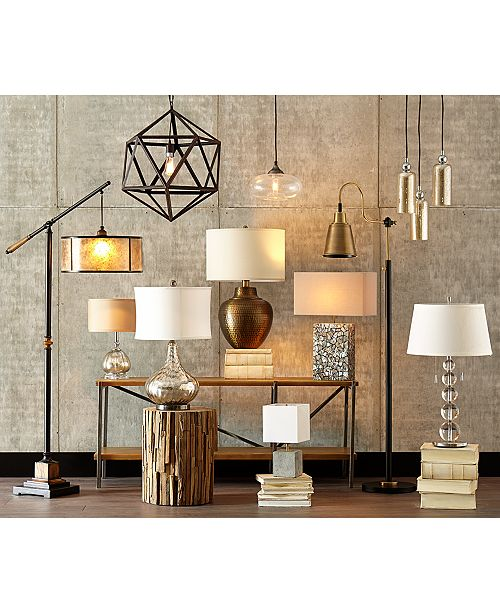 Uttermost sitka floor lamp lighting lamps home macys mozeypictures Images