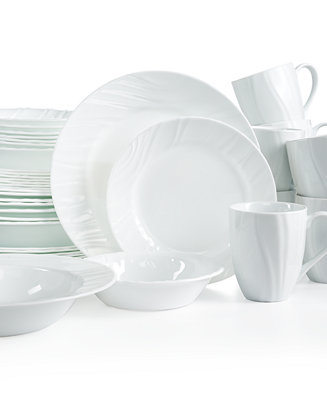 Corelle Boutique Swept Embossed 40 Piece Set Service For