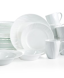 Corelle Boutique Swept Embossed 40-Piece Set, Service for 8