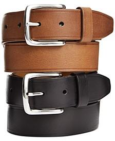 Buff Harness Leather Belt