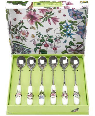 Botanic Garden Set of 6 Teaspoons