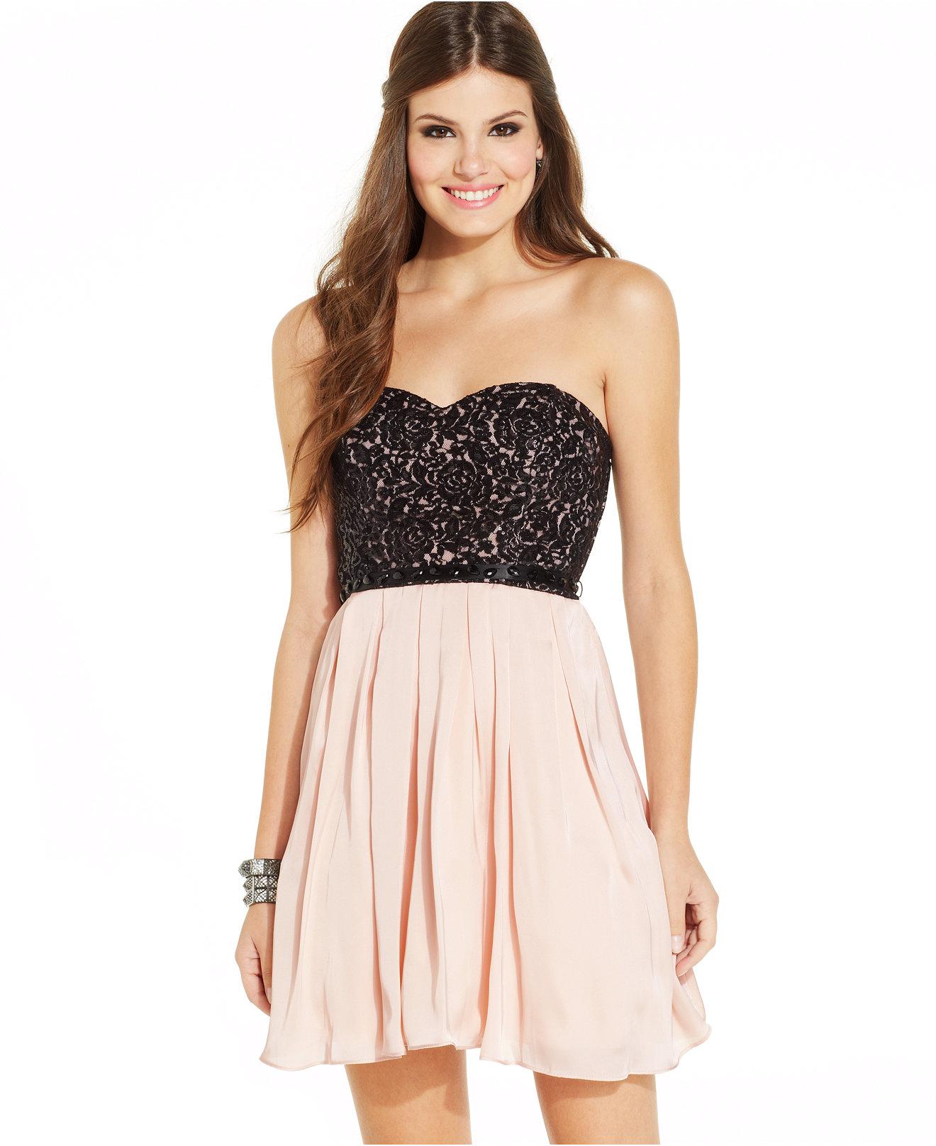 Sequin Heart Dresses