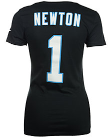 Nike Women's Cam Newton Carolina Panthers Player Pride T-Shirt
