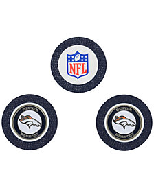 Team Golf Denver Broncos 3-Pack Poker Chip Golf Markers