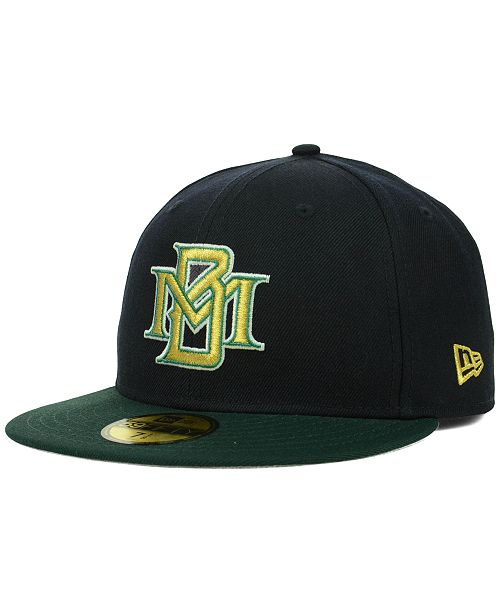 newest b49b5 35dc9 ... New Era Milwaukee Brewers MLB Cooperstown 59FIFTY Cap ...