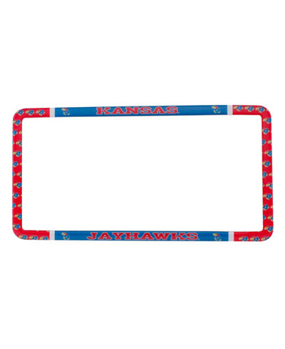 Stockdale Kansas Jayhawks Thin Rim License Plate Frame