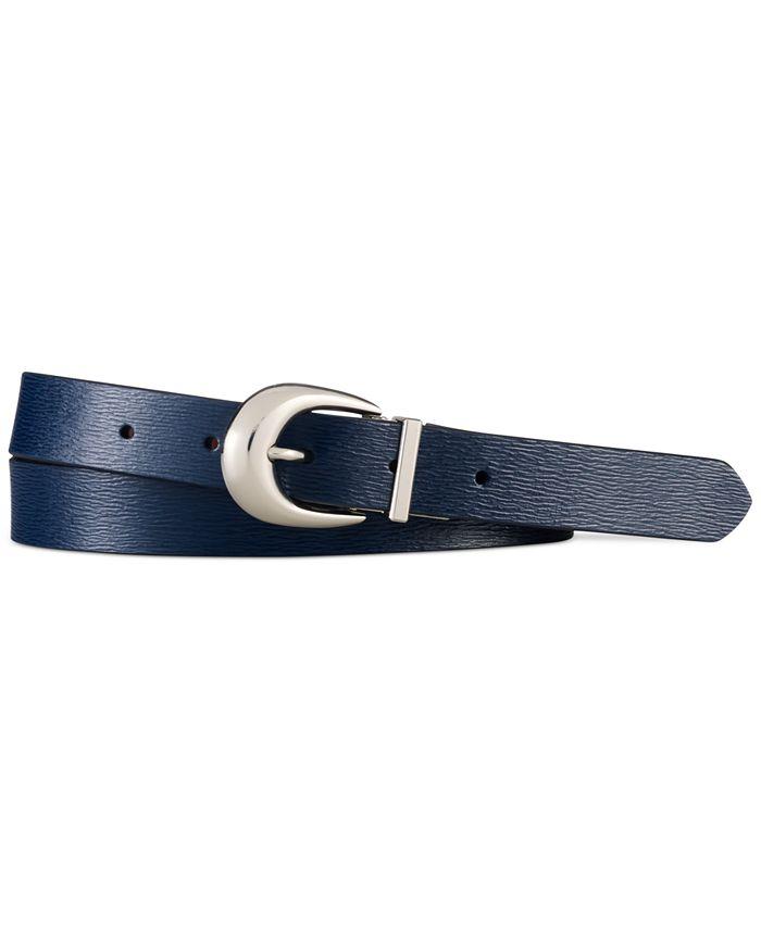Lauren Ralph Lauren - Newbury Saffiano to Smooth Reversible Belt