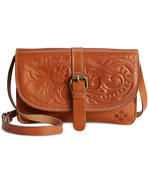 bdf504ac6978 Patricia Nash Torri Tooled Leather Crossbody   Reviews - Handbags ...