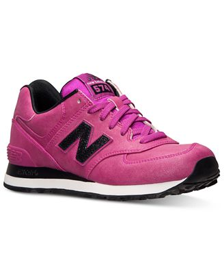 new balance women's 574 precious metals casual sneakers