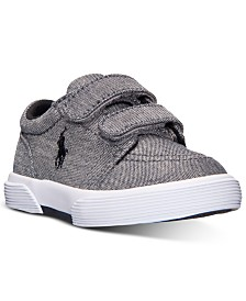 Polo Ralph Lauren Toddler Boys' Faxon II EZ Casual Sneakers from Finish Line