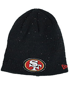 New Era Women's San Francisco 49ers Glistener Knit Hat