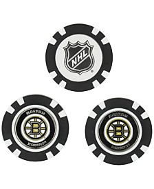Team Golf Boston Bruins 3-Pack Poker Chip Golf Markers