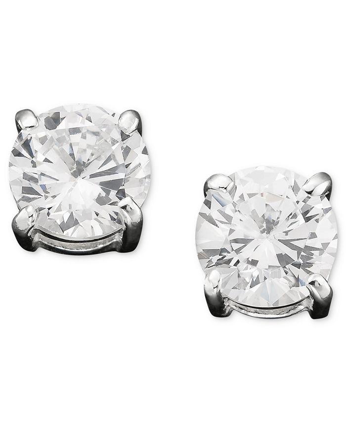 Lauren Ralph Lauren - Cubic Zirconia Stud Earrings (6mm)