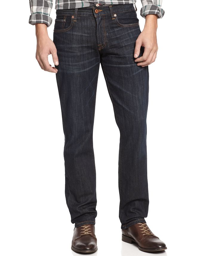 Lucky Brand - Men's 221 Original-Fit Straight Blue Gold Jeans