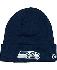 Seattle Seahawks Basic Cuff Knit Hat