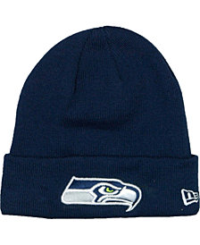 New Era Seattle Seahawks Basic Cuff Knit Hat