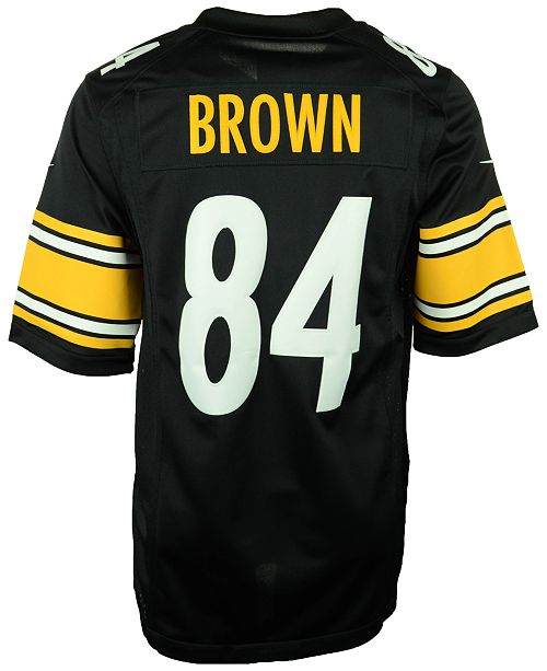 newest 9d688 cc59e Men's Antonio Brown Pittsburgh Steelers Limited Jersey