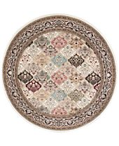 kathy ireland Home Ephesus Magnesian Multi Round Rugs, Created for Macy's