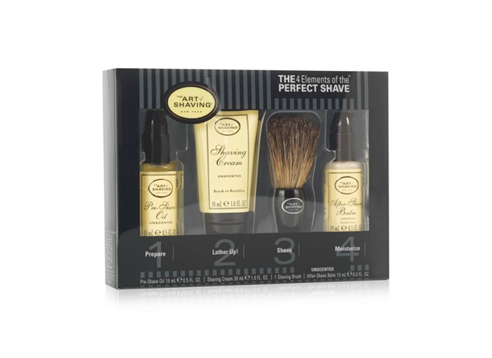 Receive a free 4-piece bonus gift with your $100 The Art of Shaving purchase