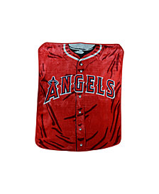 Northwest Company Los Angeles Angels of Anaheim Plush Jersey Throw Blanket