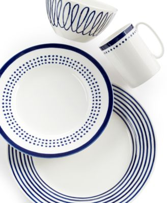 kate spade new york Charlotte Street North 4 Piece Place Setting ...  sc 1 st  American-Luxury & Casual dinnerware to make every meal a celebration.