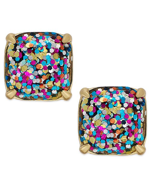 Kate Spade New York Gold Tone Small Square Stud Earrings 19 Reviews 38 00