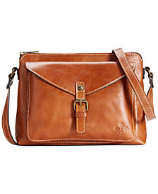 Patricia Nash Avellino Smooth Leather Crossbody