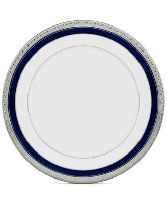 """""""Crestwood Cobalt Platinum"""" Dinner Plate"""
