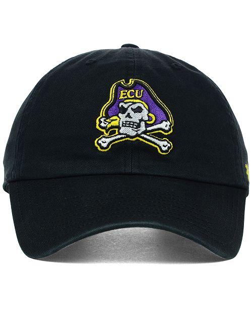 save off 0a6ef 11deb ...  47 Brand East Carolina Pirates NCAA Clean-Up Cap    ...
