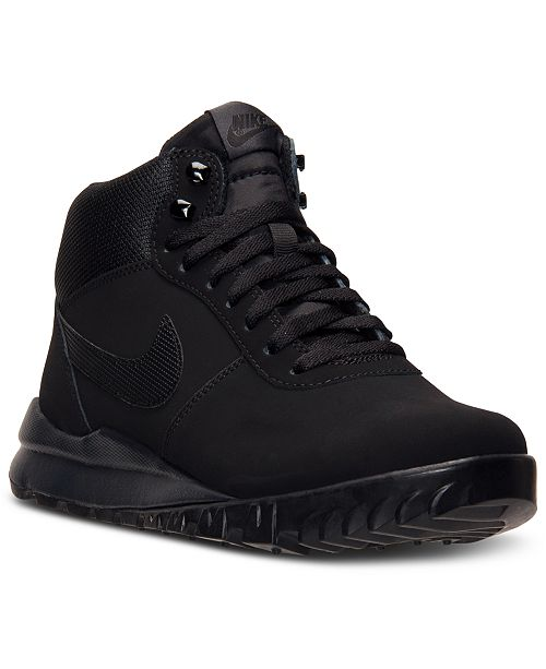 Nike Men's Hoodland Suede Boots from Finish Line & Reviews