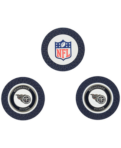 Team Golf Tennessee Titans 3-Pack Poker Chip Golf Markers
