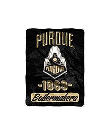 Northwest Company Purdue Boilermakers Micro Raschel Varsity Blanket