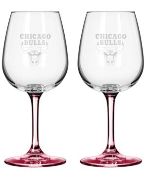 Boelter Brands Chicago Bulls 2-Pack 16 oz. Wine Glass