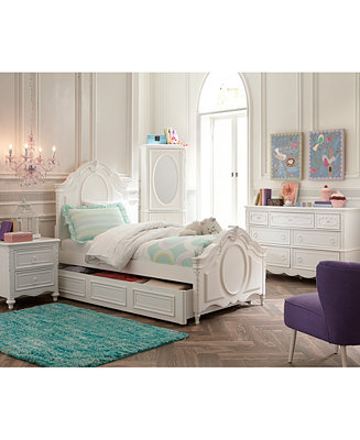 Celestial Kids Bed Panel Bed Furniture Macy 39 S