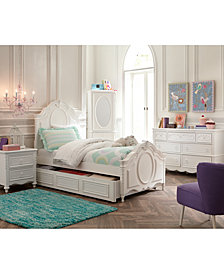 Celestial Kids Bedroom Furniture Collection, Panel Bed