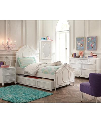 Celestial Kids Bed, Panel Bed