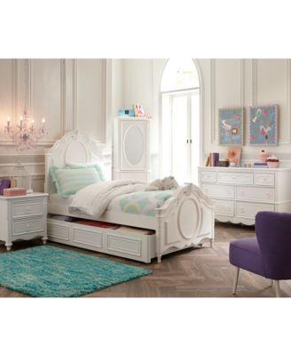 ... Furniture Celestial Kids Bedroom Furniture Collection, Panel Bed ...