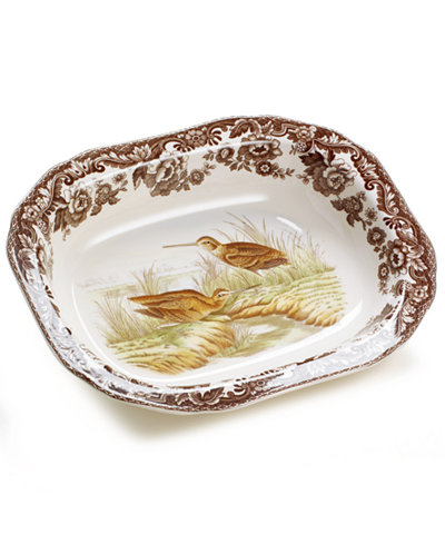 Woodland by Spode Snipe Open Vegetable