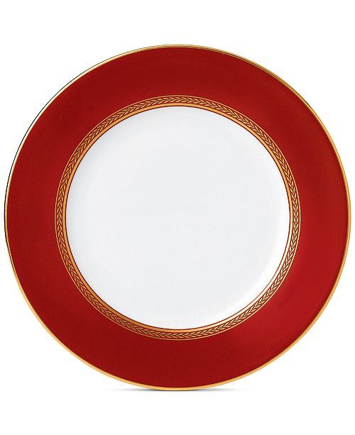 Wedgwood Renaissance Red Salad Plate