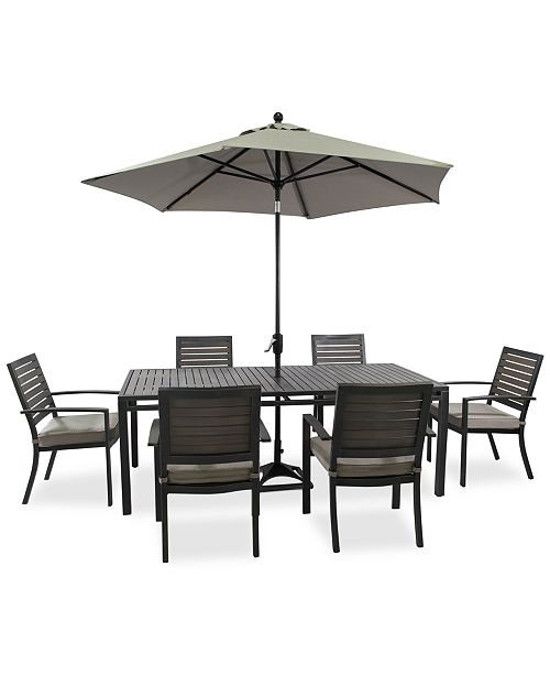 Macys Furniture Outlet Columbus: Furniture CLOSEOUT! Marlough Outdoor Dining Collection