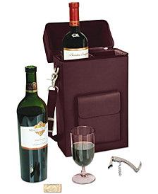 Royce Leather Connoisseur Wine Carrier