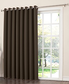 "Sun Zero Grant Room Darkening Grommet 100"" x 84"" Patio Panel"