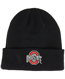 Top of the Ohio State Buckeyes Campus Cuff Knit Hat