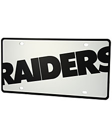 Stockdale Oakland Raiders Printed License Plate
