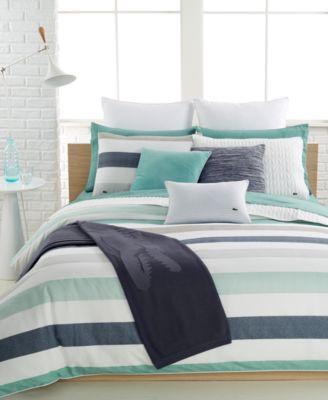 lacoste bailleul bedding collection, 100% cotton - bedding