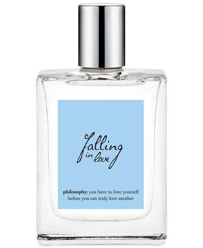 philosophy falling in love spray fragrance, 2oz.