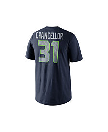 Nike Men's Kam Chancellor Seattle Seahawks Pride Name and Number T-Shirt