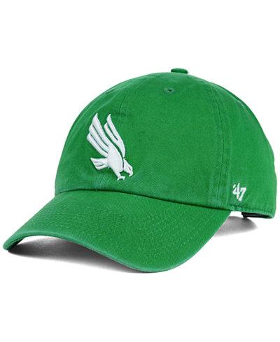'47 Brand North Texas Mean Green Clean-Up Cap